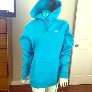 EUC Under Armour Pullover Hooded Sweatshirt